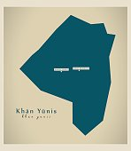Modern Map - Khan Yunis PS