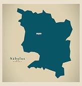 Modern Map - Nabulus PS