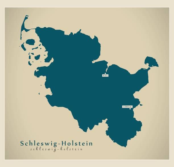 Schleswig Holstein Karte.Schleswig Holstein Karte Stock Vektoren Und Grafiken Istock