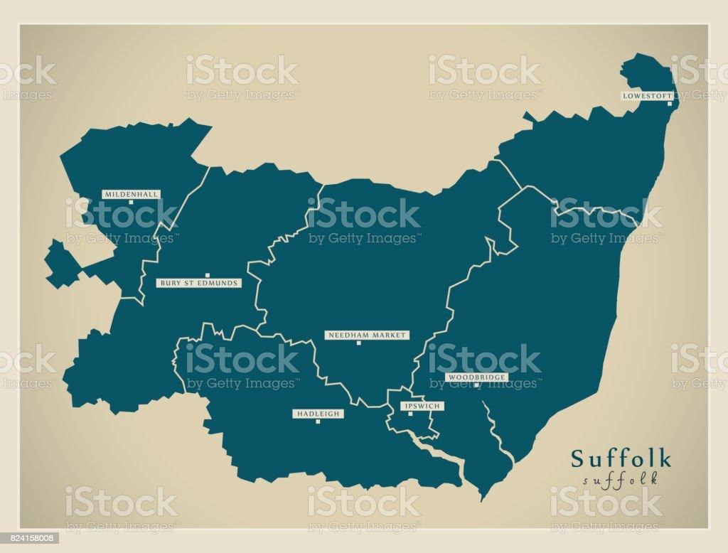 bury st edmunds england ipswich england map suffolk england