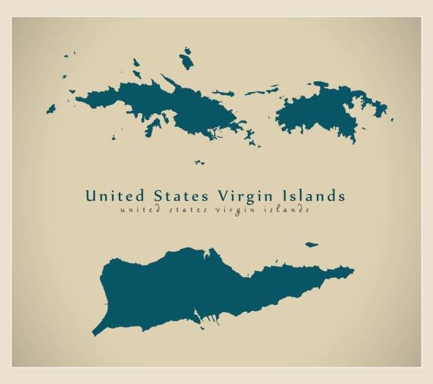 Royalty Free Us Virgin Islands Clip Art, Vector Images ...