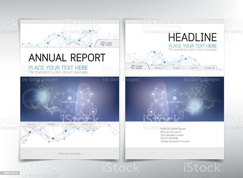 Modern medical and biochemical cover page, vector template royalty-free modern medical and biochemical cover page vector template stock vector art & more images of abstract