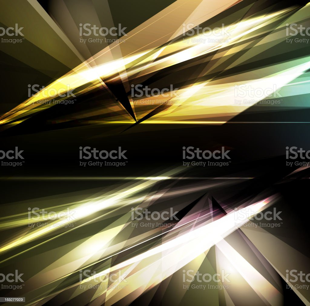 A modern metallic background with lights royalty-free stock vector art