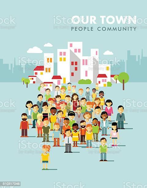 Modern multicultural society concept with city people in flat style vector id510317046?b=1&k=6&m=510317046&s=612x612&h=wl59gfjhue1fi0f5r4fw7b6ev4wxvo4uudqqczj993w=
