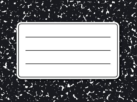 Modern Notebook Textured Splattered Mottled Background Abstract Pattern