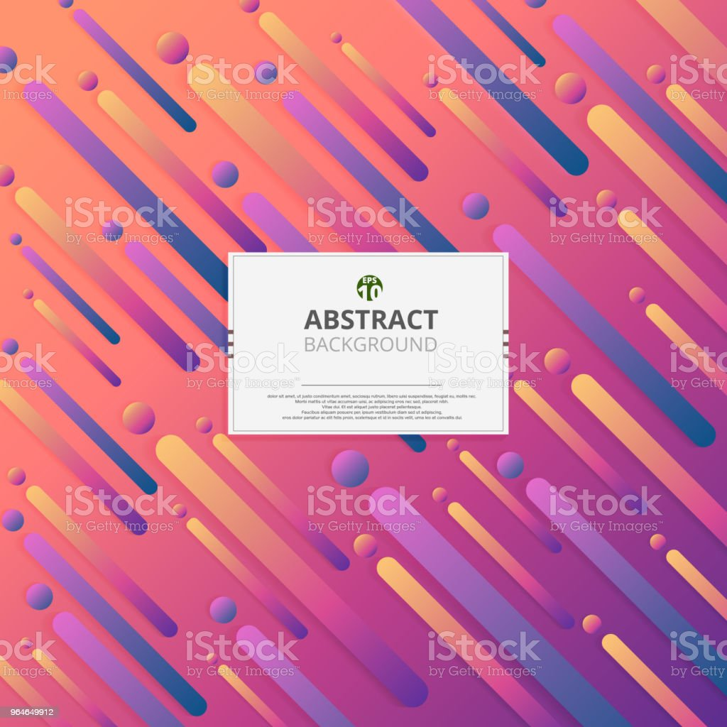 Modern of colorful gradient wave of circle lines background. Designing with stripes tone of pattern. royalty-free modern of colorful gradient wave of circle lines background designing with stripes tone of pattern stock vector art & more images of abstract