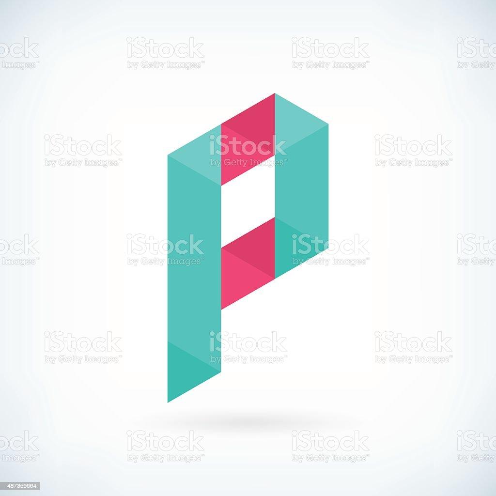 letter p origami