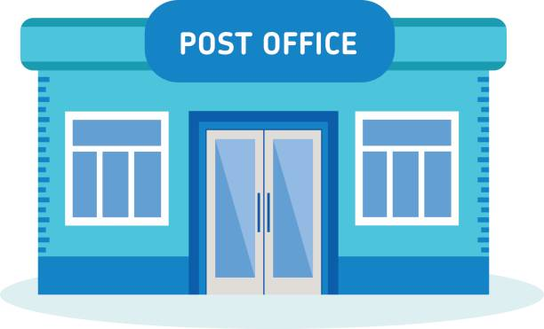 Best Post Office Illustrations, Royalty-Free Vector ...
