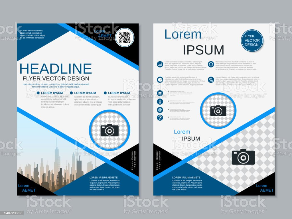 Modern professional business flyer vector template arte vetorial modern professional business flyer vector template modern professional business flyer vector template arte vetorial de reheart Choice Image