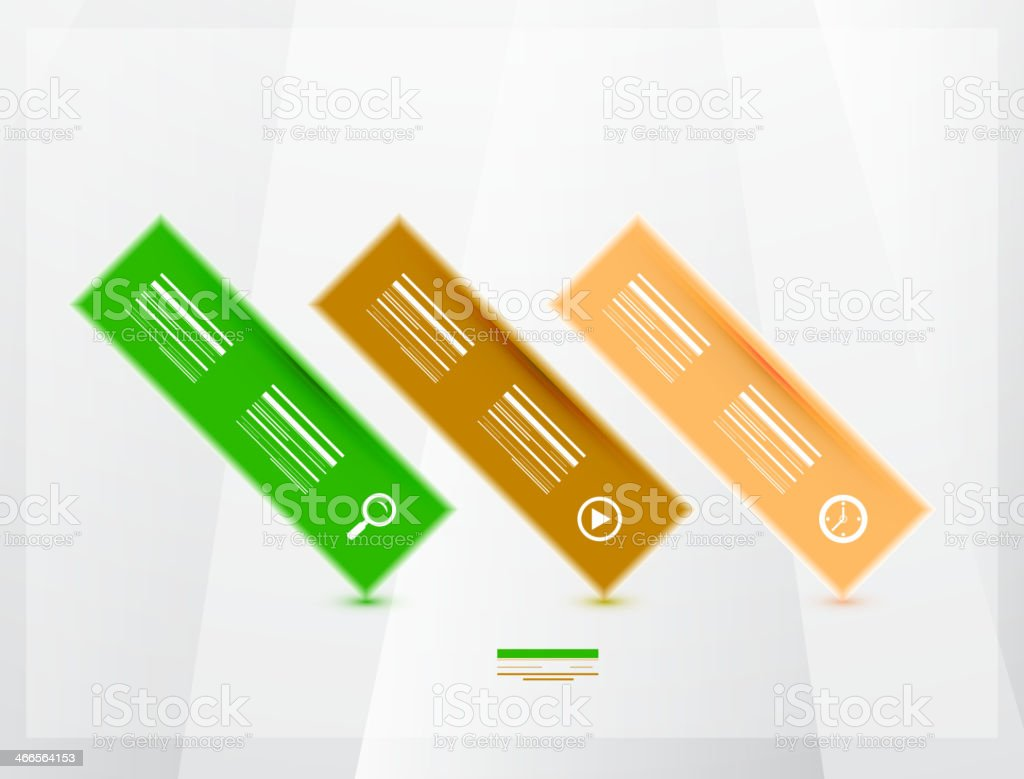 Modern progress infographics banners royalty-free modern progress infographics banners stock vector art & more images of abstract