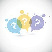 Modern Question mark icon