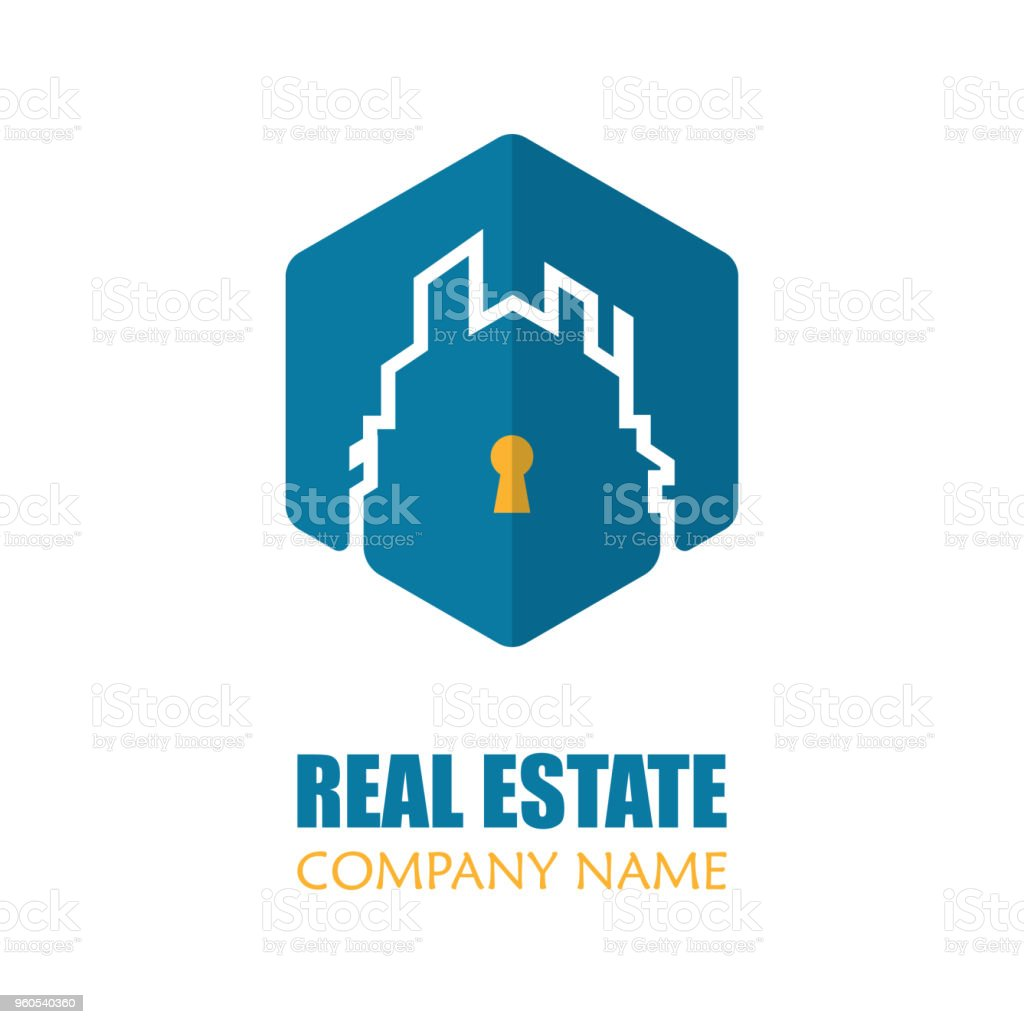 Modern real estate logo template vector illustration creative modern real estate logo template vector illustration creative abstract home logo for apartment house reheart Image collections