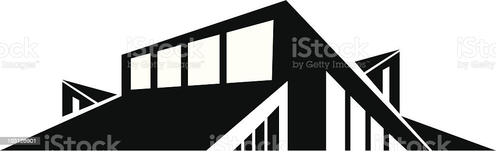 Modern Roofline royalty-free stock vector art