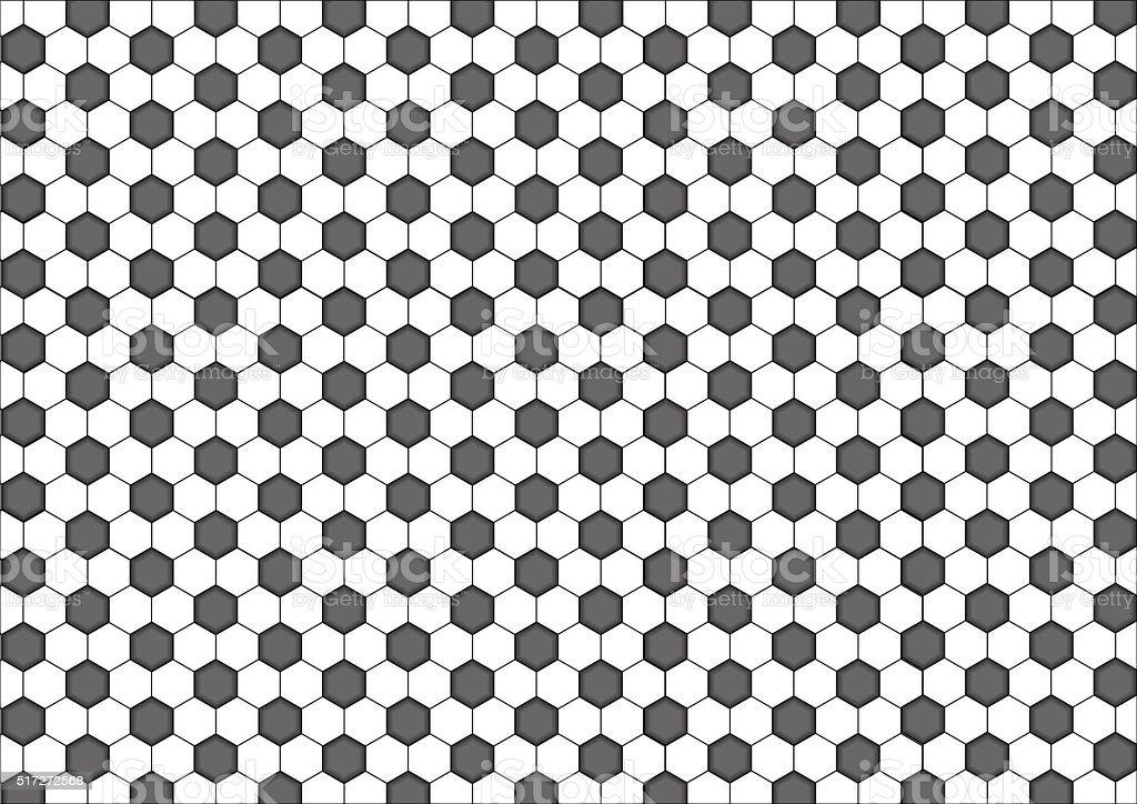 Ilustración de Moderna Patrón Sin Costuras De Geometría Hexagonal ...