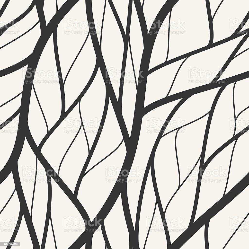 Modern Seamless Wallpaper Pattern Stock Vector Art & More Images of ...