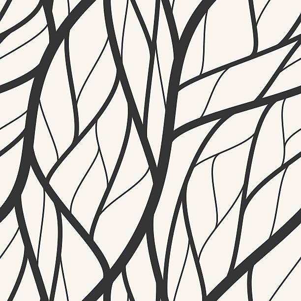 モダンな壁紙パターン - 葉のテクスチャ点のイラスト素材/クリップアート素材/マンガ素材/アイコン素材