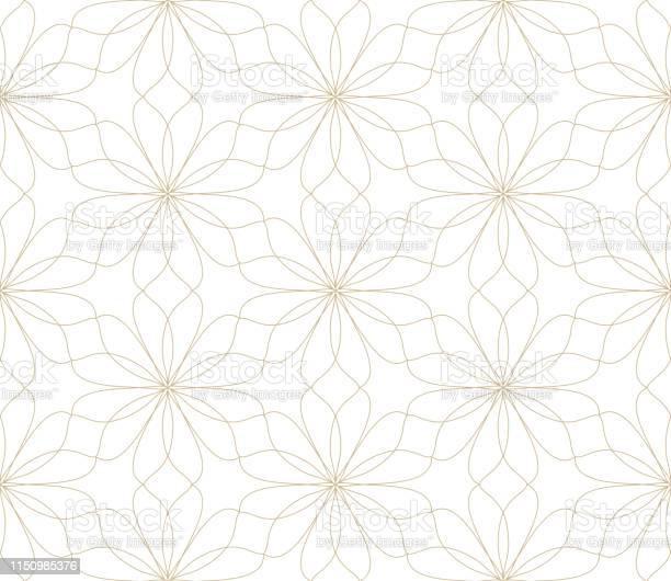 Modern simple geometric vector seamless pattern with gold flowers vector id1150985376?b=1&k=6&m=1150985376&s=612x612&h=lvft8bzya tje zxvwvz1dhovfjubkmpubplfe9hs7o=