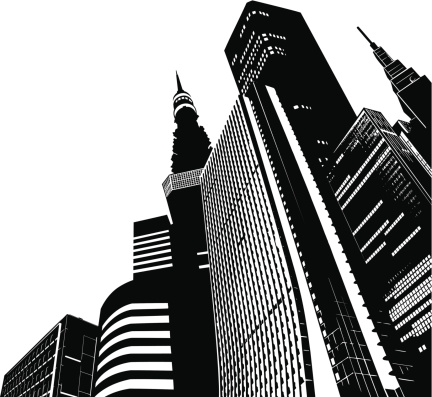 Modern Skyscrapers - Tokyo