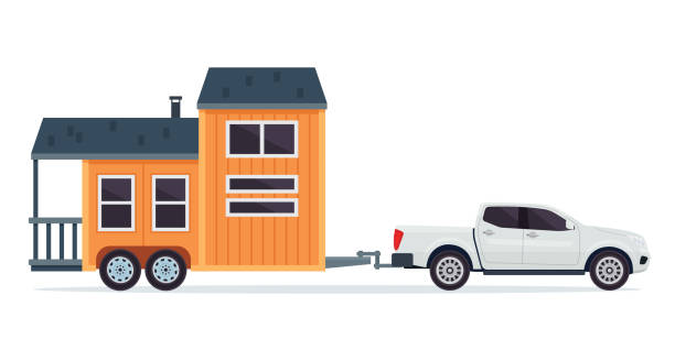 Best Tiny Houses Illustrations Royalty Free Vector Graphics