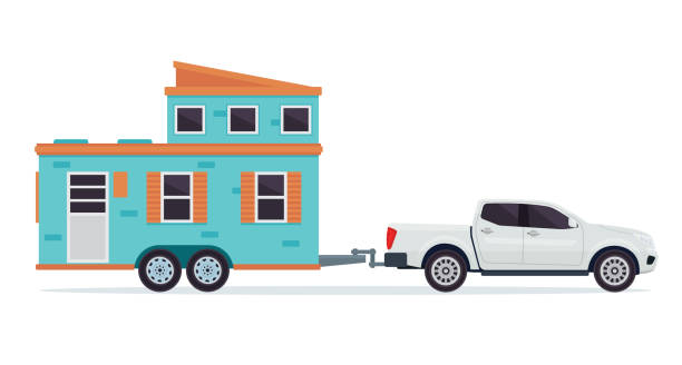 Best Tiny House Illustrations Royalty Free Vector Graphics