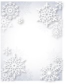 Modern snowflake frame design. EPS10 file contains transparencies.  Global colors used and hi res jpeg included. Additional AI10 file with whole shapes included. Scroll down to see more of my designs linked below.