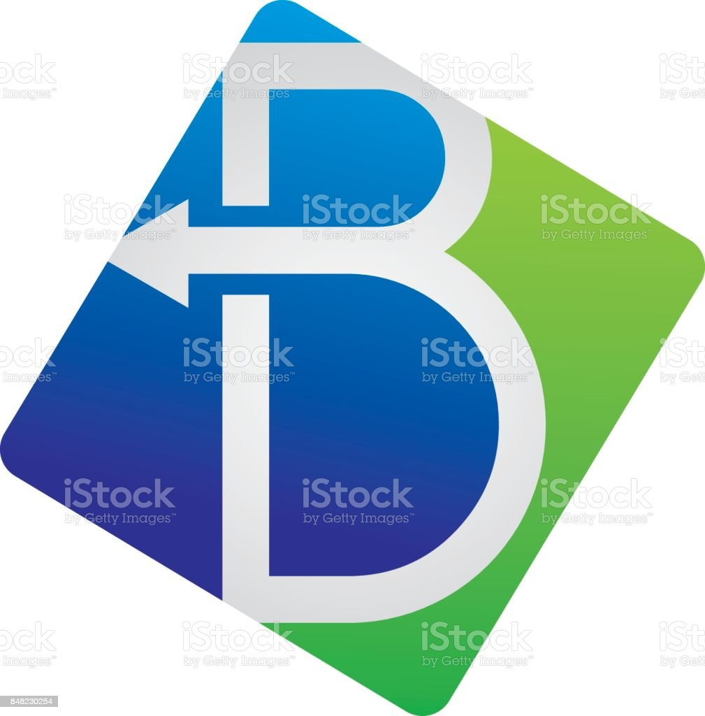B Stock Solutions modern solutions letter b stock illustration - download