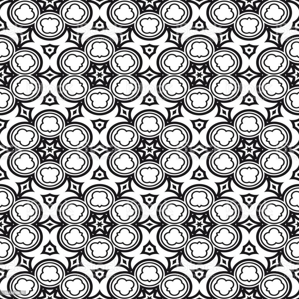 Moderne Stilvolle Geometrie Musterdesign Artdecohintergrund