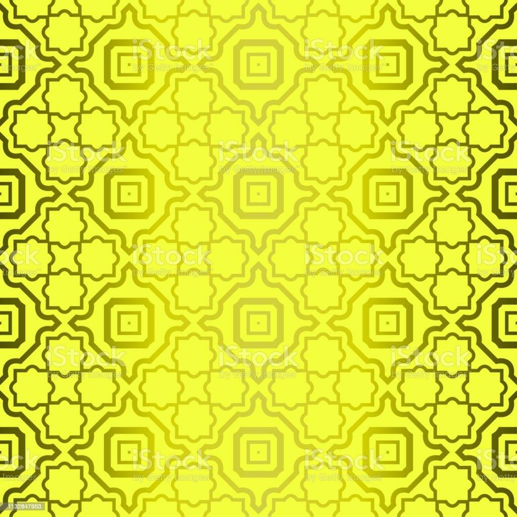 Modern Stylish Geometry Seamless Pattern Art Deco Background
