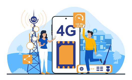Modern technology in transferring cellular data.