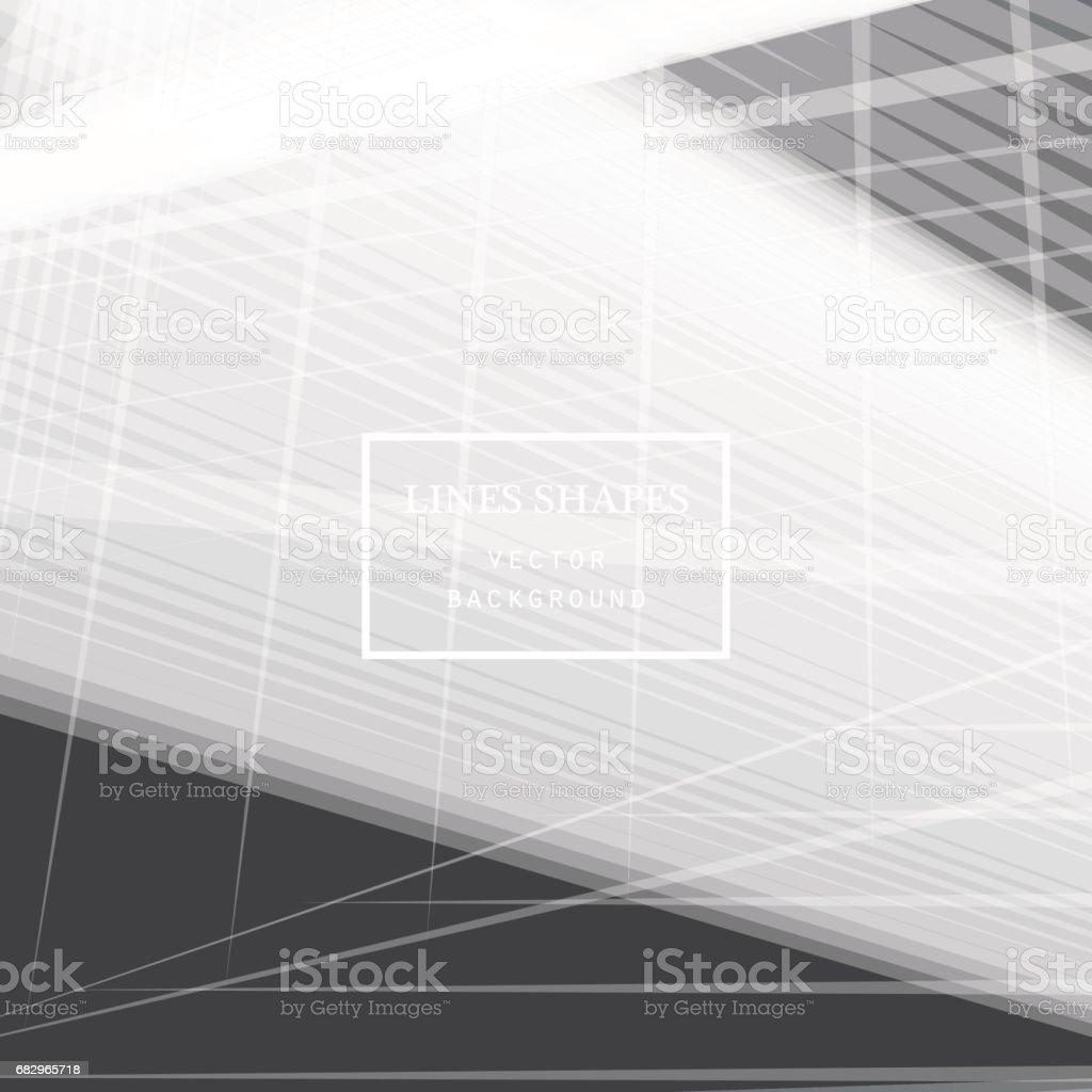 Vector de fondo abstracto rayas de tecnología moderna ilustración de vector de fondo abstracto rayas de tecnología moderna y más banco de imágenes de abstracto libre de derechos
