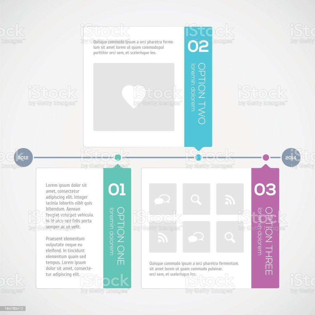 Modern Timeline Design Template Stock Vector Art & More ...
