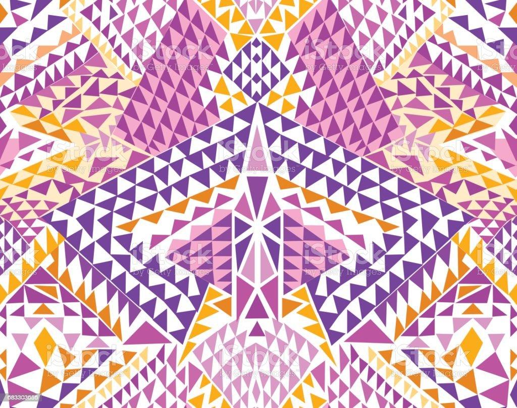 Modern Triangle geo design ~ seamless background modern triangle geo design seamless background - immagini vettoriali stock e altre immagini di arte, cultura e spettacolo royalty-free