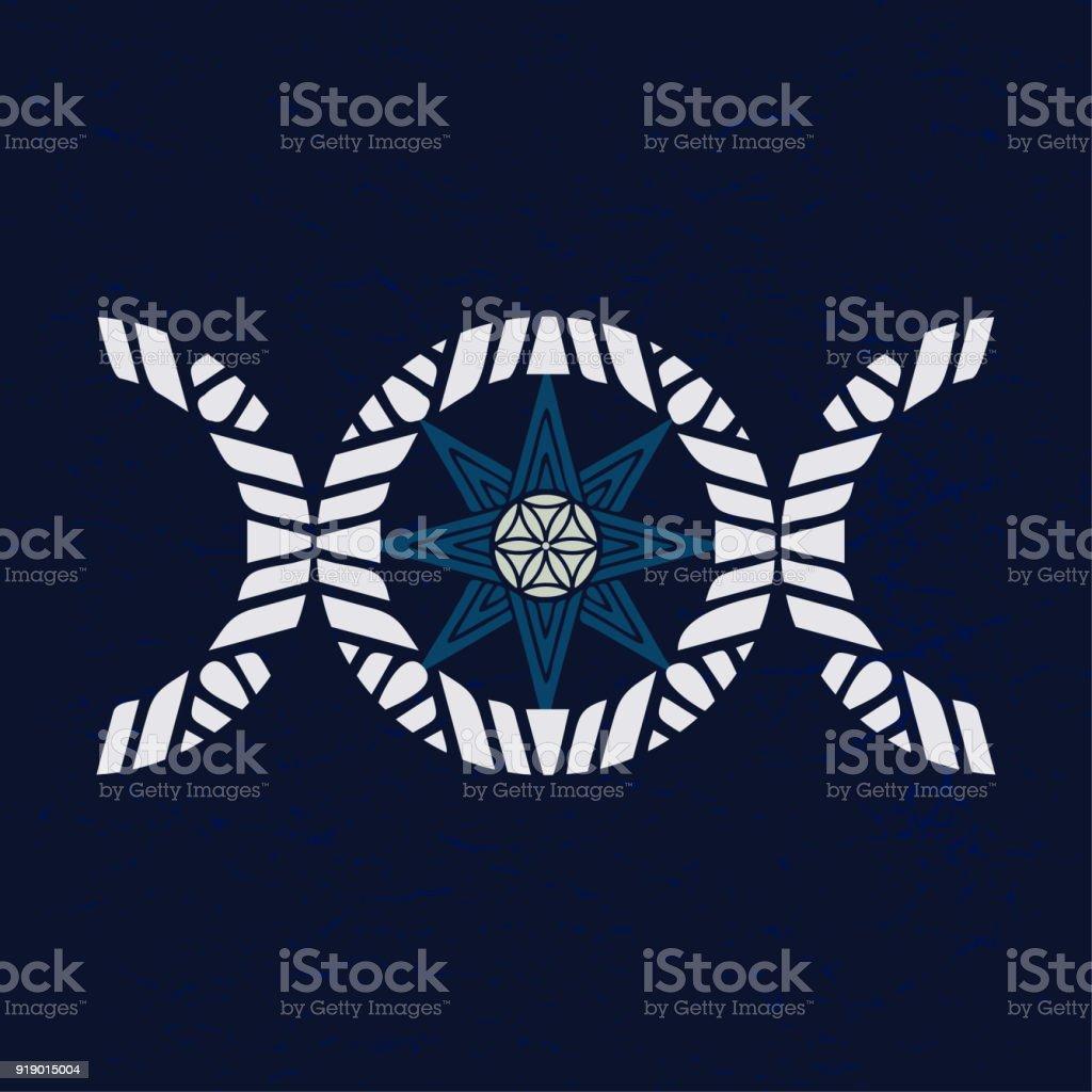 Triple goddess symbol gallery symbol and sign ideas modern variant of the moon triple goddess symbol with eight point modern variant of the moon biocorpaavc