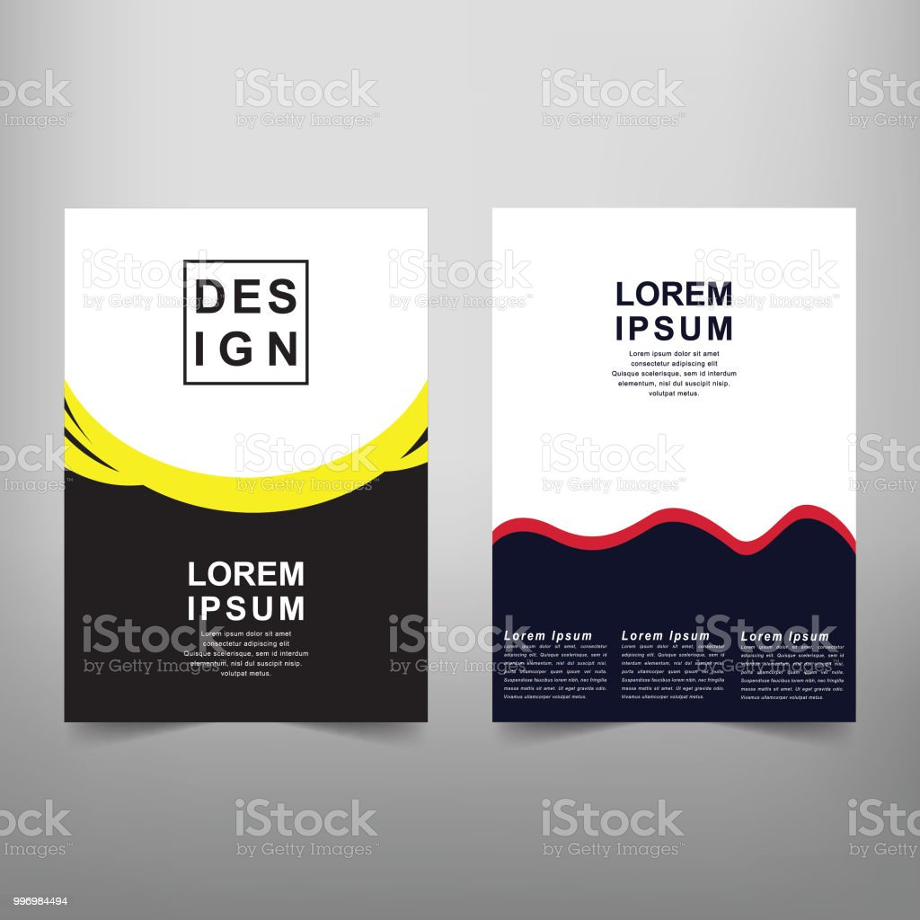 modern vector abstract book cover template vector of modern abstract