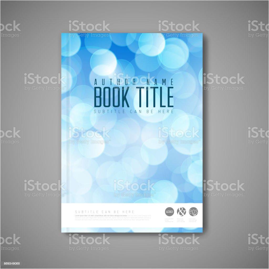 Modern Vector abstract brochure / book / flyer design template vector art illustration