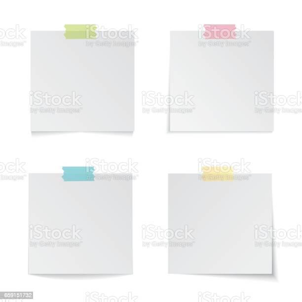 Moderne Vektorillustration Des Bunten Sticks Beachten Sie Satz Isoliert Auf Weißem Hintergrund Moderne Vektorillustration Von Bunten Stick Hinweis Satz Isoliert Auf Weißem Hintergrund Stock Vektor Art und mehr Bilder von Abstrakt