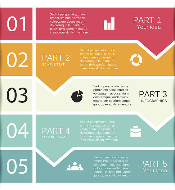 Modern vector info graphic for business project Layout for your options or steps. Abstract template for background. flat physical description stock illustrations