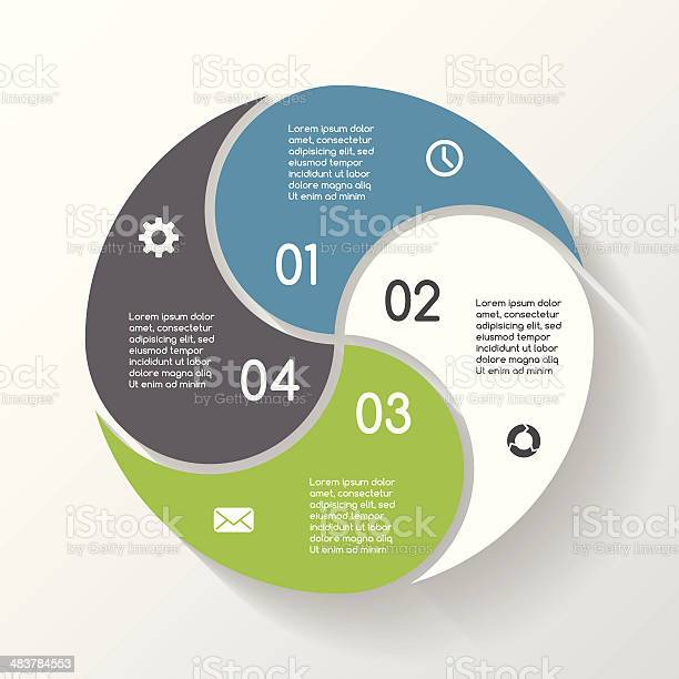 Modern Vector Info Graphic For Business Project Stock Illustration - Download Image Now