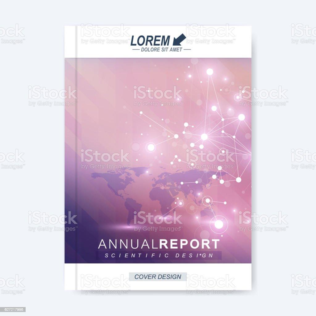 Modern Vector Template For Brochure Leaflet Flyer Cover Magazine Or