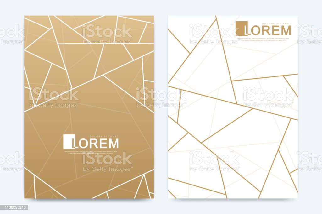 Modern Vector Template Wedding Invitation Cards With Marble