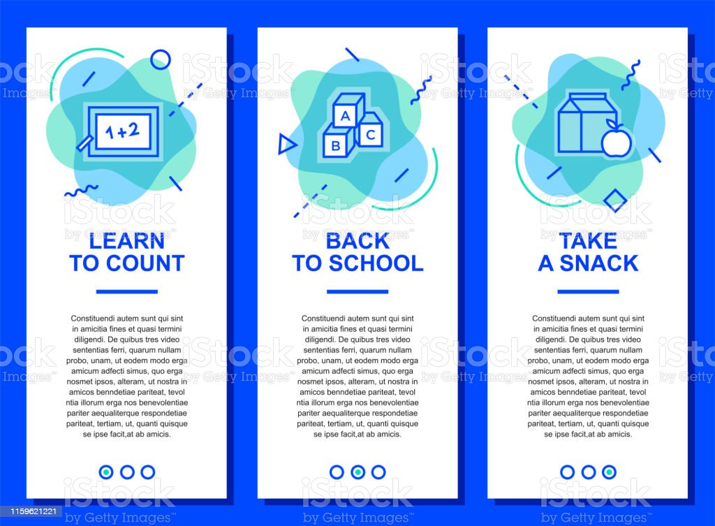 69a26860965 Modern Web Banner School And Education Back To School Stock ...