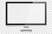 istock Modern Widescreen HD Desktop PC Monitor 1268316580