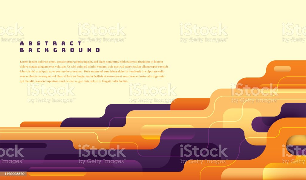 Modish abstract layout design. - Royalty-free Abstract stock vector