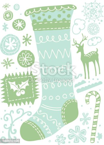 Modish Christmas Stocking and other fun things