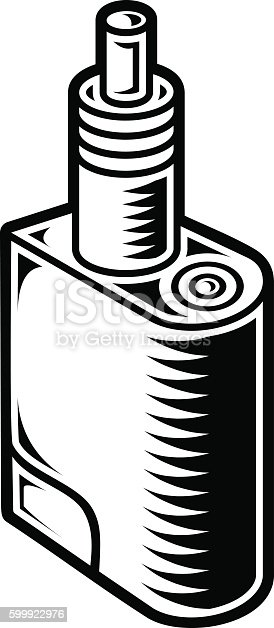 mods vaping pen vaping electric cigarette stock vector art  u0026 more images of alternative