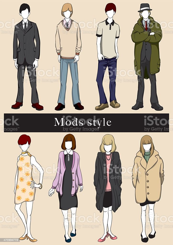 ModsStyle royalty-free stock vector art