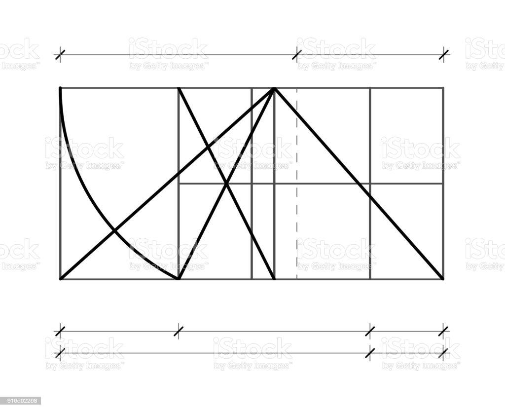 Modulor Le Corbusier Vorlage Zu Decken Harmonisch Zu Messen Das ...