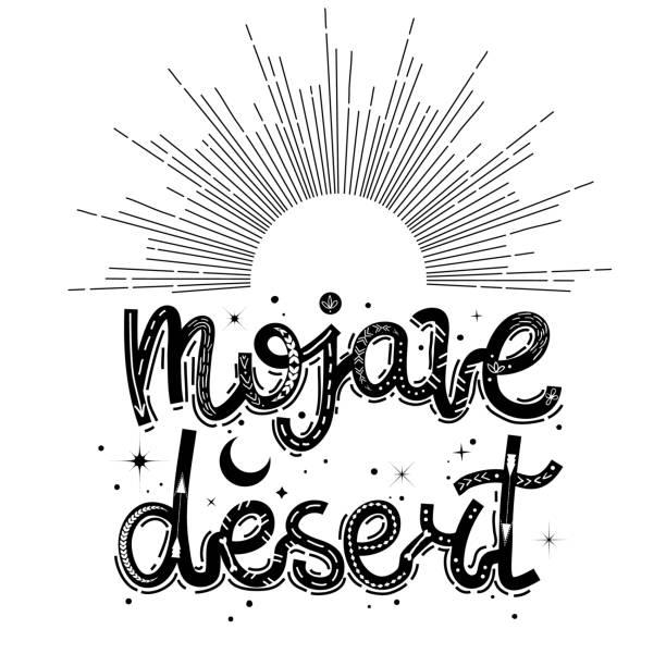 Best Mojave Desert Illustrations, Royalty-Free Vector