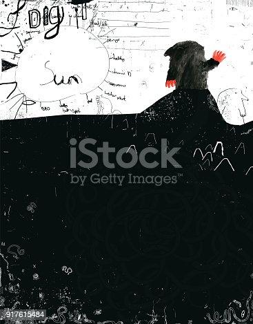 istock Mole and underground world 917615484