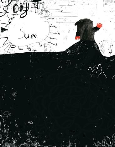 Mole and underground world